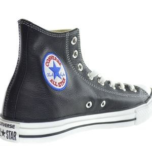 Converse Unisex All Star Leather Hi Lace Shoes